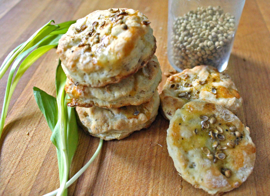 Ramp & Buttermilk Biscuits with Coriander